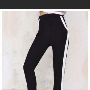 NWT Black & White high waisted leggings Pants